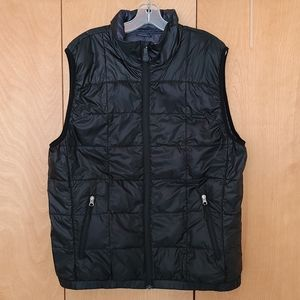 WindRiver 550 down black puffer vest size large